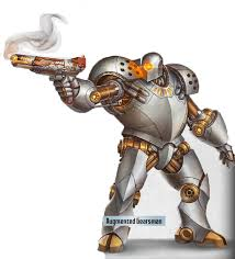 pathfinder android robots and androids gearsman mk ii electric