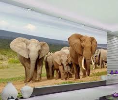 Cheap Wall Murals by Online Get Cheap 3d Wall Murals Wallpaper Elephant Aliexpress Com