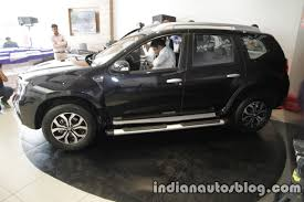 nissan terrano india 2017 nissan terrano facelift side launched indian autos blog