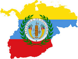 Columbia South America Map by Flag Map Of Gran Colombia Maps Of South America Pinterest