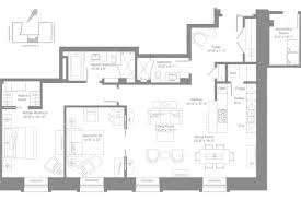 floor plan the ritz carlton residences montreal
