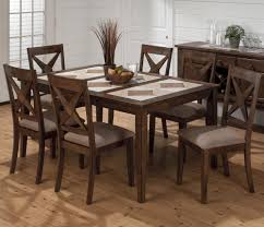 Tile Top Dining Room Table - Tile top kitchen table and chairs