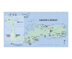 Grand Cayman Islands Map Maps Of Cayman Islands Detailed Map Of Cayman Islands In English