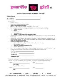 event planning contract templates free amitdhull co