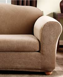 Dual Reclining Sofa Slipcover by Decorating Adorable Design Of Sure Fit Sofa Slipcovers For Chic