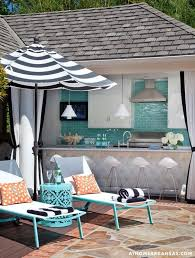 Black And White Patio Umbrella High Low Options Black White Outdoor Umbrella Confettistyle