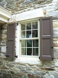 exterior shutter styles u2013 digital sign me