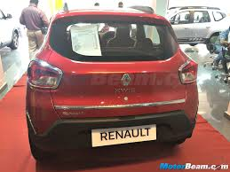 renault kwid red colour renault offers chrome induced accessories for kwid at dealerships