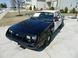 fox ford mustang for sale restored chp 1985 ford mustang ssp bring a trailer