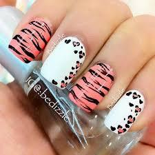 zebra pattern nail art zebra print nail design easy nail art