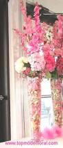 tall large pink floral arrangement unique floral arrangements by