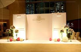 wedding event backdrop ines weddings event decoration 婚宴場地佈置 宴會佈置