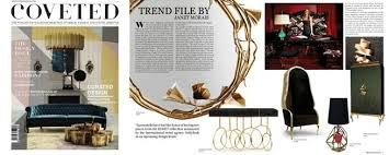 Trend File By Janet Morais Interview With Koket Creative Director - Modern interior design magazines