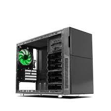amazon com nanoxia deep silence 4 mini tower computer case with 6
