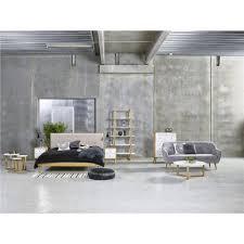 Oslo Bedroom Furniture Oslo Tall Chest Of Drawers Oak U0026 White Fads Co Uk