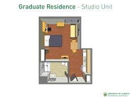 a studio unit layout note that there are different layouts for