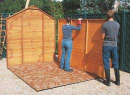 How To Build A Shed Step By Step by How To Build A Wooden Shed Help U0026 Ideas Diy At B U0026q