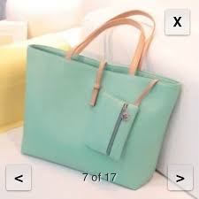 mint tote bag for school brand new os from tammy s