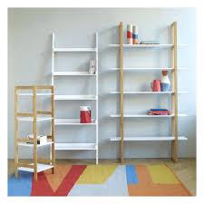 Leaning Bookshelf With Desk White Leaning Bookshelf Desk Shelf Canada Ladder Wide Bookcase