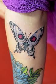 skull butterfly by vanda junior artist level