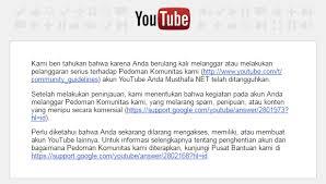 membuat akun youtube di hp cara mengembalikan atau memulihkan akun youtube yang ditangguhkan