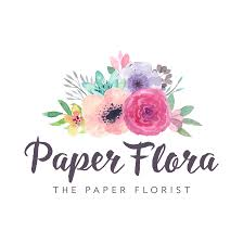Home Decor Logo Paperflora Paper Flower Walls Backdrops And Home Decor