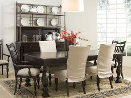Black Dining Chair Covers Excellent Large Dining Room Chair Covers In Dining Room Chairs