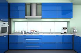 blue color kitchen cabinets kitchen cabinet color for 2015