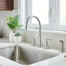 widespread kitchen faucet delancy widespread kitchen faucet american standard