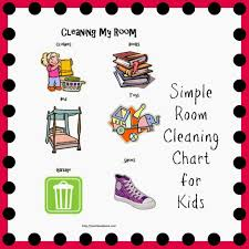 Clean Bedroom Checklist A Dry Erase Clean Tidy Bedroom Clipart Room Checklist For The Kids