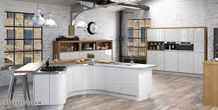 Kitchen Cabinets Uk Only by Handleless Kitchen Doors High Gloss Replacement Kitchen Doors And