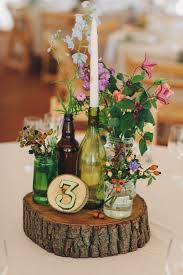 Wine Bottle Centerpieces 20 Wine Bottle Decor Ideas To Steal For Your Vineyard Wedding