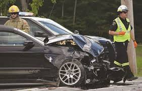 Black Mustang Crash Major Lombardy Vehicle Collision Sends At Least Four To Hospital