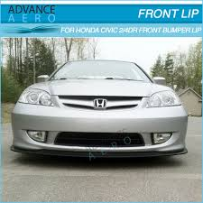 2005 honda civic front bumper for 04 05 honda civic type a style pu front lip spoiler buy for