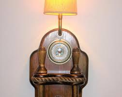 vintage nautical lamps barometers clocks u0026 by seamynauticalvintage