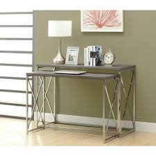 Living Room Console Table Dark Taupe Living Room Furniture Furniture The Home Depot