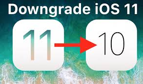 how to downgrade ios 11 to ios 10 3 3 on iphone and ipad