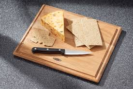 stellar kitchen woodware oak cutting board 30 x 25 x 1 5cm ebay