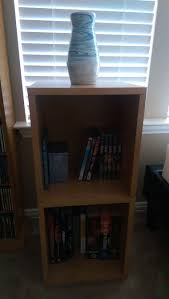 Narrow Cube Bookcase by 2 Shelf Narrow Bookcase In Espresso Formaldehyde Free Way Basics