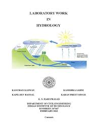 ce 341 hydrology lab manual final drainage basin reynolds number