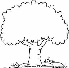 coloring pages trees coloring book