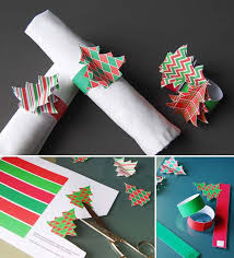 Christmas Table Decoration Templates by Super Delicate Napkin Ideas For Your Christmas Table Setting