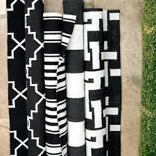 Black And White Modern Rug Black And White Rugs Area Rug Unique Rugs Blue Rug As Black And