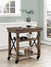 ameriwood furniture wildwood wood veneer multi purpose rolling