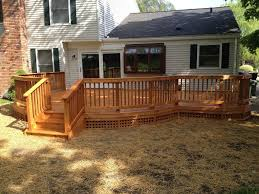 deck skirting ideas doherty house metal deck skirting ideas