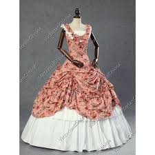 Halloween Costumes Southern Belle Victorian Southern Belle Princess Floral Ball Gown Dress