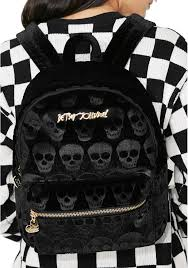 halloween express johnson city betsey johnson skull backpack dolls kill