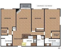 apartments 3 bedroom 3 bedroom 3 bathroom apartments centument co