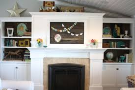 Fireplace Mantels For Tv by Remodelaholic 95 Ways To Hide Or Decorate Around The Tv