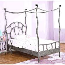 metal canopy bed king black beautiful rod iron birdcages a wood u